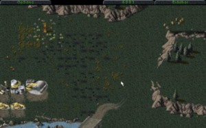 Terrain gets pockmarked as battles rage over them and units get destroyed.