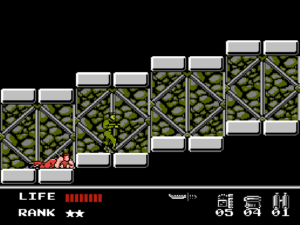 2D scrolling sections feature stealth challenges from a different perspective.