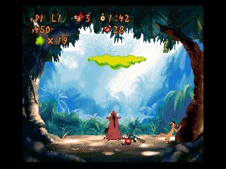 Timon and Pumbaa's Jungle Games