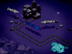 Blow up pirates in the overworld for cash.