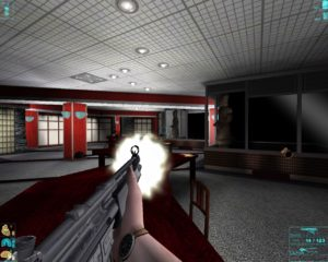 The meeting room where you fight Marco. Levels based on scenes from the film are done well.