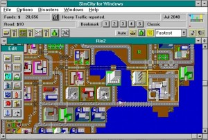 Since the game's already built around an interface of windows, the Windows port benefits significantly.