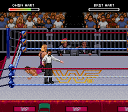 One of the few positives of 1994: Recreating the Bret-Owen feud.