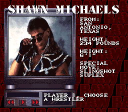 Y'see kids, Shawn Michaels used to look a LOT different.