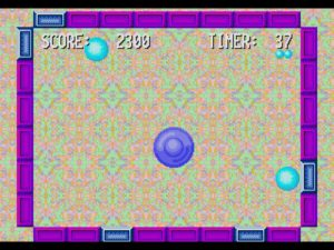 Whack Ball offers a different use for the lightgun, but not a particularly engaging one.