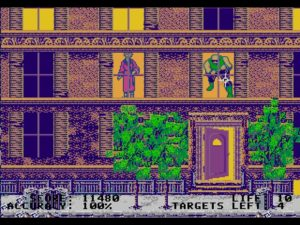 Rockman's Zone offers dopey arcade shooting in a city the Master System probably could have pulled off.