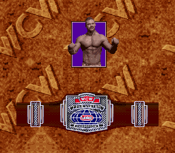 No, it's not that special. They give you a belt for winning ANY match.
