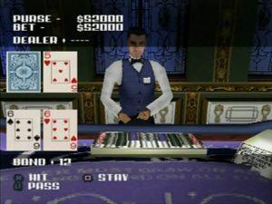 You'll actually play a blackjack minigame.