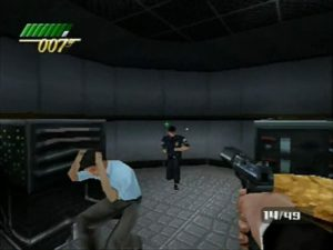 Stealth levels are loosely enforced. You can handle replacement guards, just make sure no innocents get killed.
