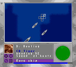 Attention to detail: Actual naval designations are used for the different types of ships.