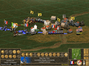 Battles can easily turn into disorganized free-for-alls.