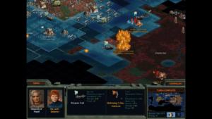 Ship artillery can pound away at coastal cities.