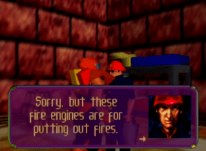 Is that so, Mister Fireman?