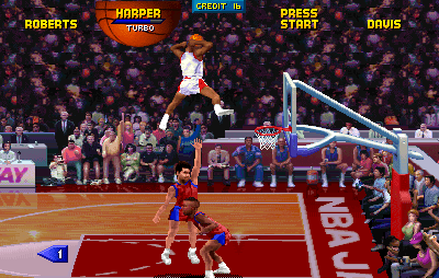 NBA Jam Tournament Edition (Arcade)