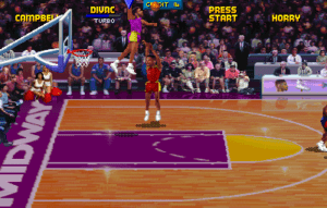 YOU DON'T GET TO SHOOT ON VLADE DIVAC, FOOL.