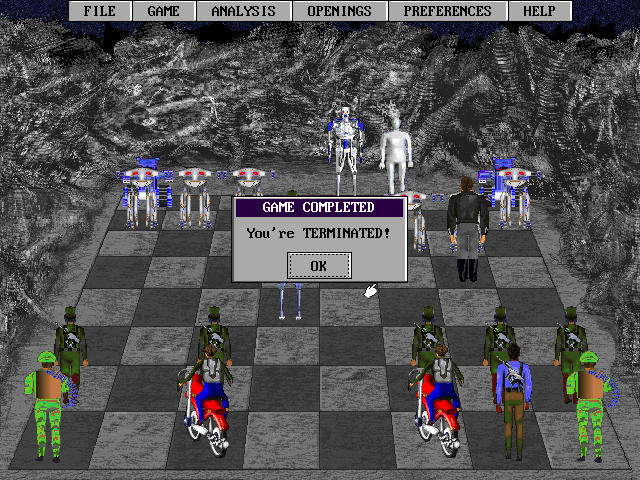 Terminator 2: Chess Wars